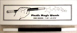 Magic Wand (Plastic) 7.25 inch