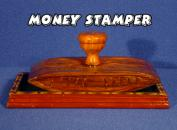 Money Stamper Made of Fine Wood