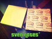 Sven Notes (Three Pack) Sticky Note SvenPads
