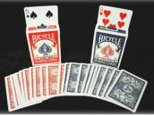 Bicycle-League Back, Poker size