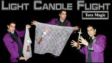Lit Candles Flight w/ DVD - Tora