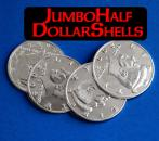 Jumbo Half Dollar Shell Set of 4