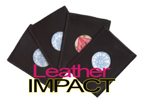 Leather Impact by Howie Schwarzman
