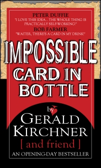 Impossible Card In Bottle!