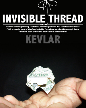 Invisible Thread (Kevlar) PLUS Wax Taqs!