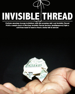 Invisible Thread (Nylon) PLUS Wax Taqs FREE