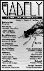 Mr. Gadfly Issue One (PDF)