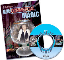 More Commercial Magic DVD by JC Wagner