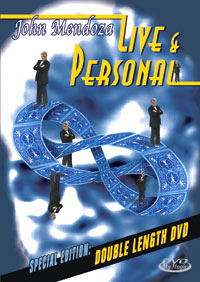 Live & Personal by John Mendoza DVD