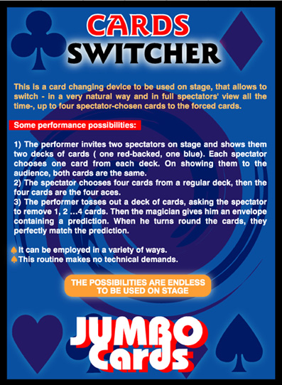 Cards Switcher (Jumbo) by Eduardo Kozuch