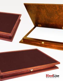Key Lock Chest with Leather Working Surface (Seconds)