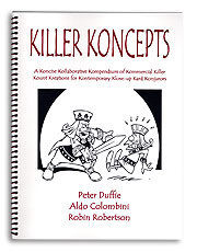 Killer Koncepts Book by Peter Duffie & Aldo Colombini