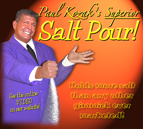 Superior Salt Pour by Paul Kozak