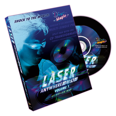 Laser Anywhere by Adrian Man Vol. 1 DVD