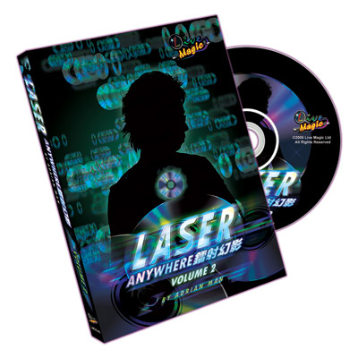 Laser Anywhere by Adrian Man Vol. 2 DVD