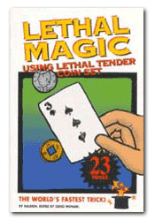 Lethal Tender Magic Book
