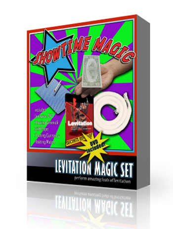 Levitate and Float Magic Set with DVD