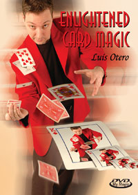 Enlightened Card Magic DVD by Luis Otero
