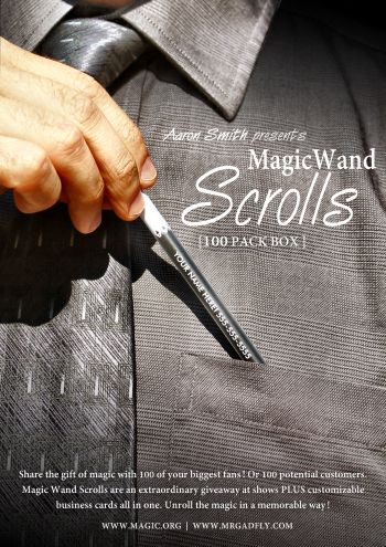 Magic Wand Scrolls (100 Pack Box)