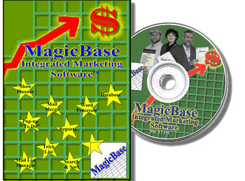 Magic Base Booking Software CD-ROM