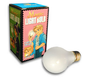 Magic Light Bulb (Glass)