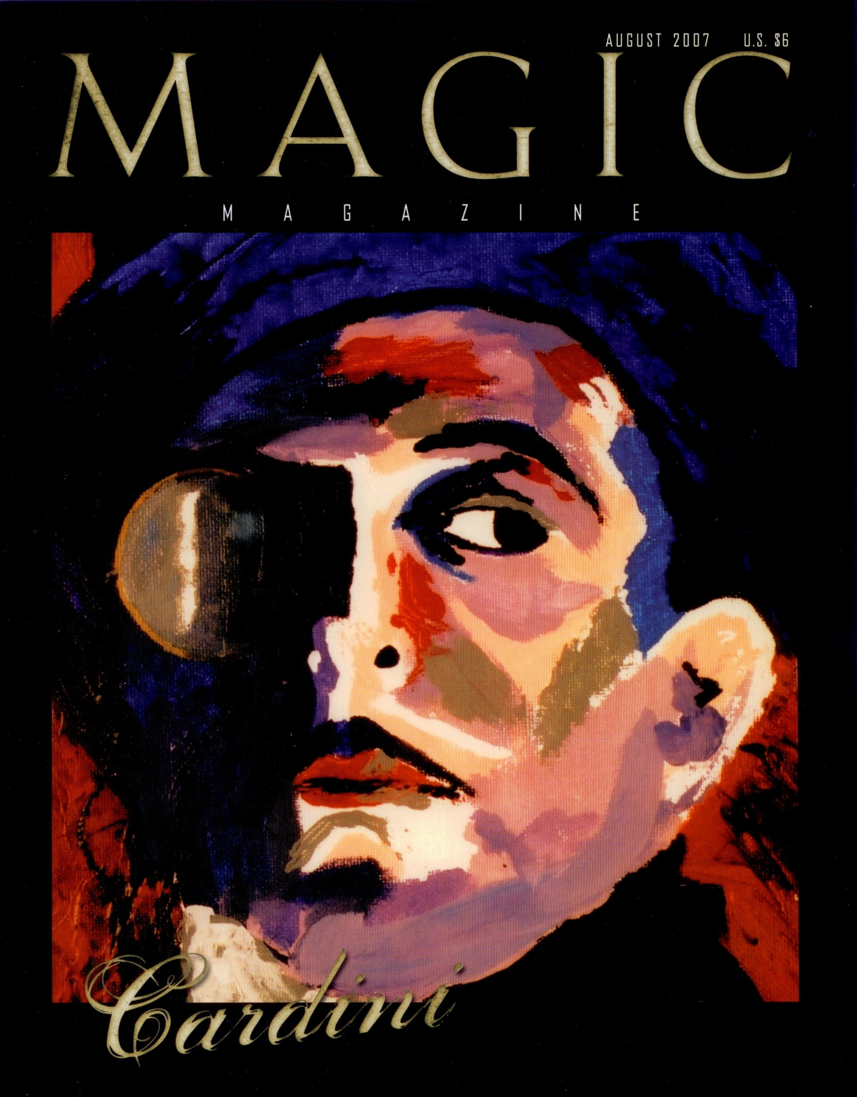 Magic Magazine August 2007