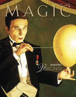Magic Magazine October 2009