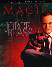 Magic Magazine September 2008