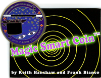 Magic Smart Coin by Keith Hanshaw  Set of 3 Coins
