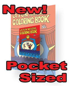 Mini FUN Magic Coloring book