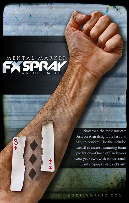 Mental Marker FX SPRAY plus Stencil Pack
