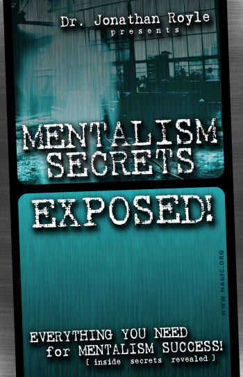 Mentalism Secrets Exposed by Jonathan Royle