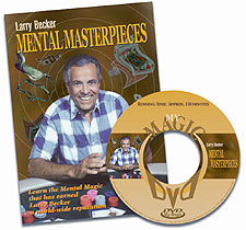 Mental Masterpieces (DVD) by Larry Becker