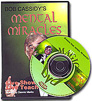 MENTAL MIRACLES DVD (CASSIDY)