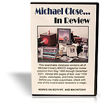 Michael Close in Review