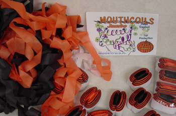Mouthcoils Jumbo size made in the U.S. Halloween Coils