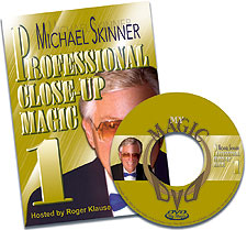 Michael Skinner's Pro Close-Up Magic #1 DVD