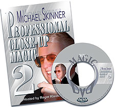 Michael Skinner's Pro Close-Up Magic #2 DVD