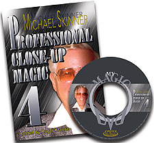 Michael Skinner Pro Close-Up Magic #4 DVD
