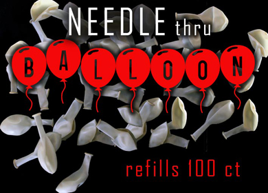 Needle Through Balloon Refills