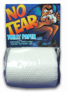 No-Tear Toilet Paper Roll