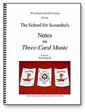 Notes on Three-Card Monte (Haydn)