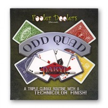 Odd Quad by Daryl with DVD