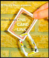 One Card Link DVD by Sixten Beme