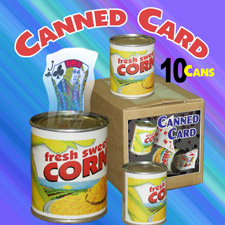Canned Card (10 sets)