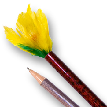 Vanishing Pencil To Feather Flower
