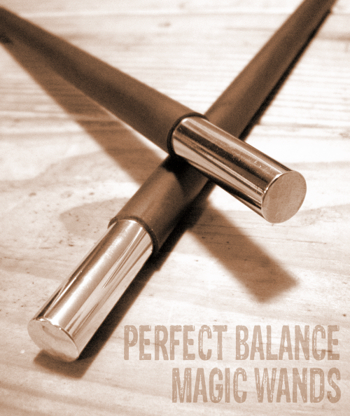 Perfect Balance Magic Wand (Solid Metal)