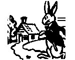 Peter Rabbit Goes To Town (Adams)