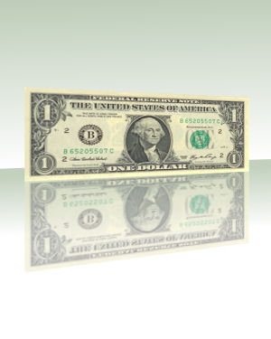 PK Bill Ferromagnetic Dollar