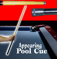 Appearing Pool Cue